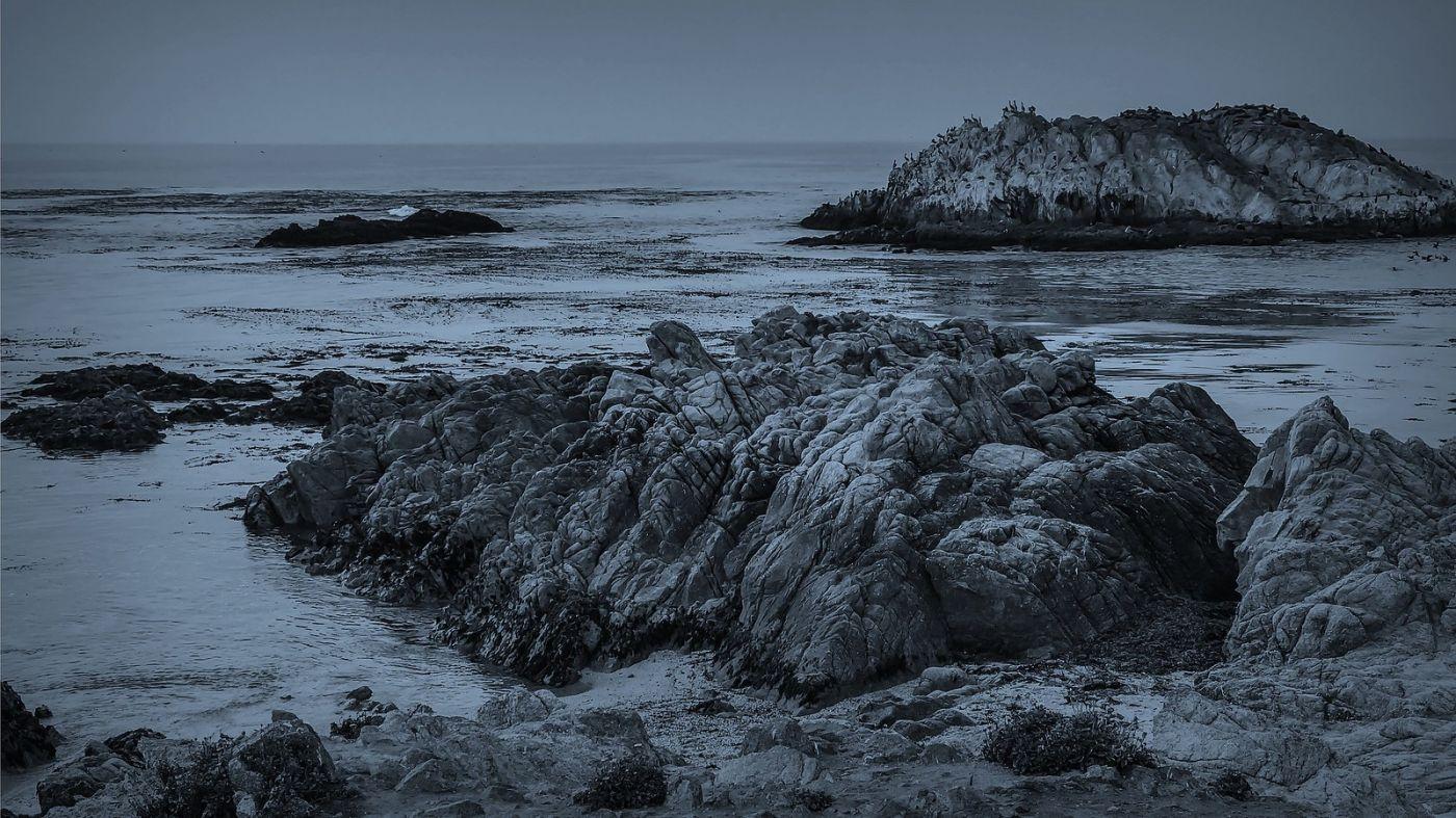 加州17英里,海边的奇形礁石_图1-19