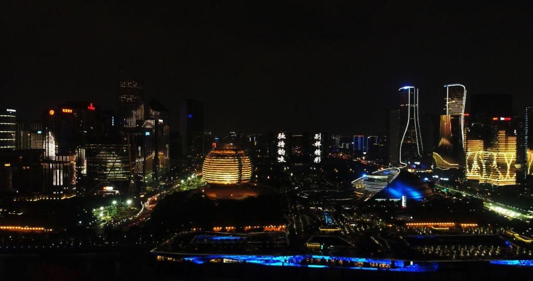 钱江新城灯光秀_图1-4