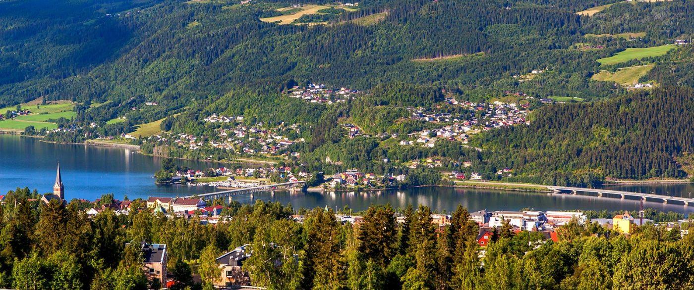 挪威利勒哈默尔(Lillehammer),美丽的小城依山傍水_图1-19