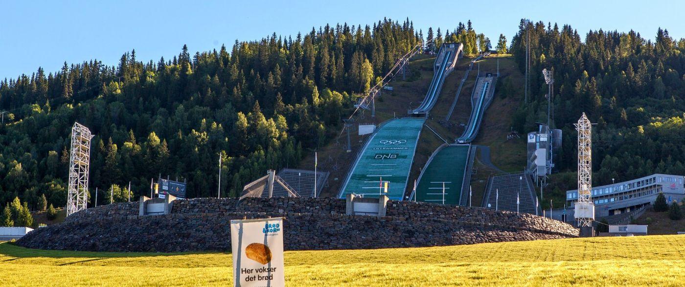 挪威利勒哈默尔(Lillehammer),美丽的小城依山傍水_图1-20