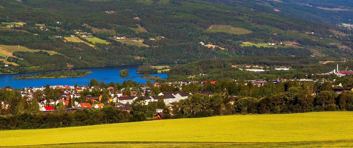 挪威利勒哈默尔(Lillehammer),美丽的小城依山傍水_图1-22
