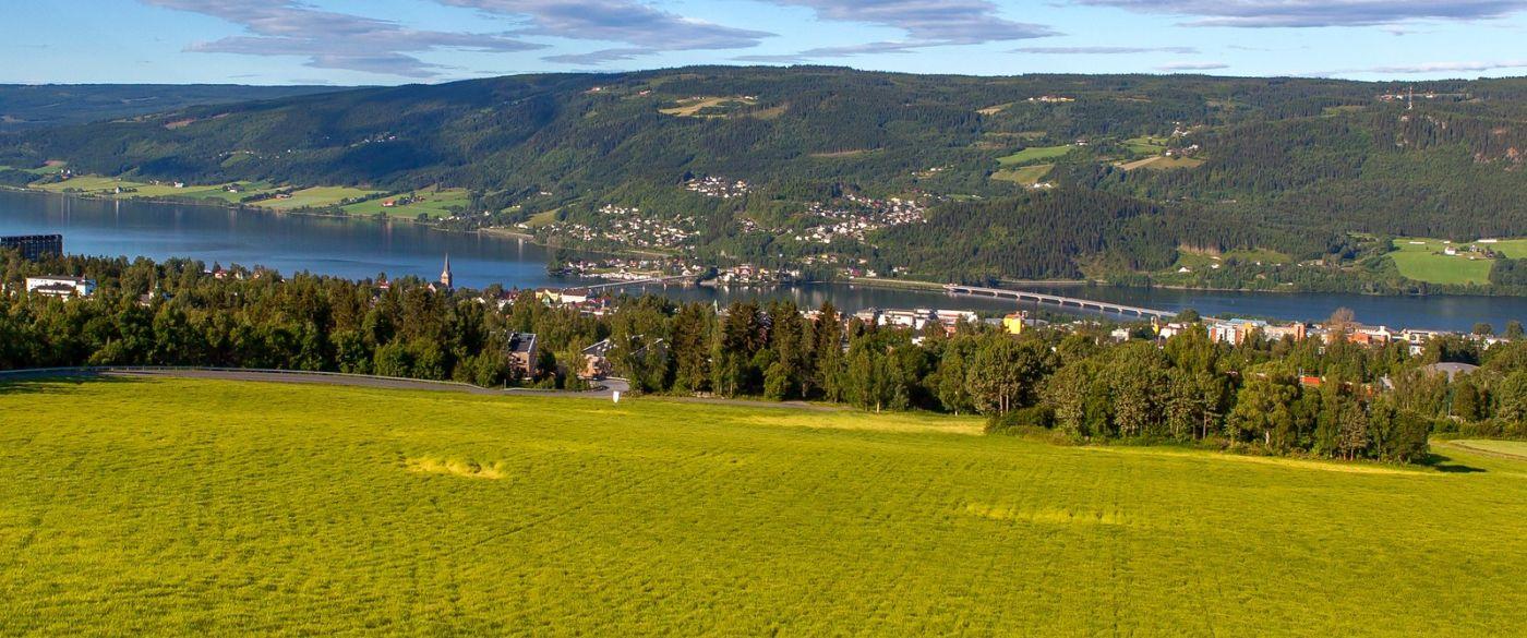 挪威利勒哈默尔(Lillehammer),美丽的小城依山傍水_图1-17