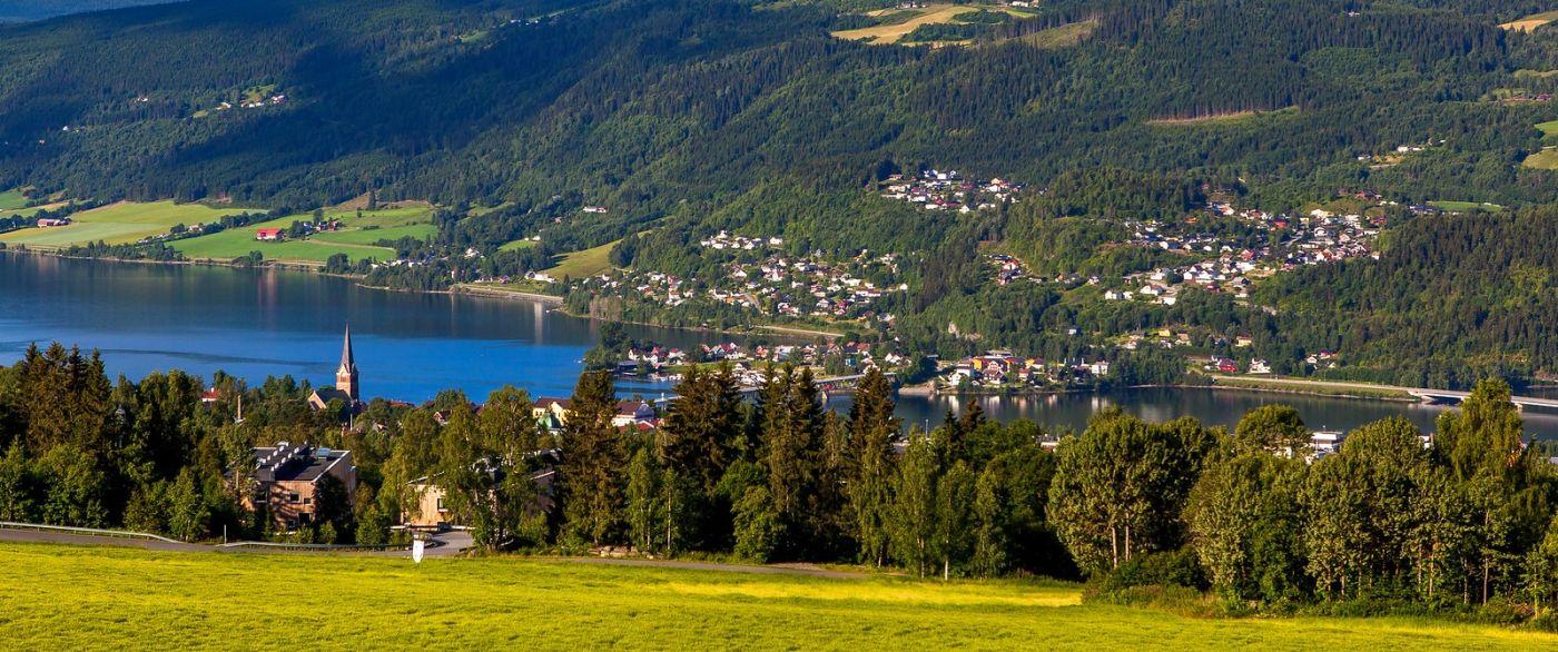 挪威利勒哈默尔(Lillehammer),美丽的小城依山傍水_图1-16