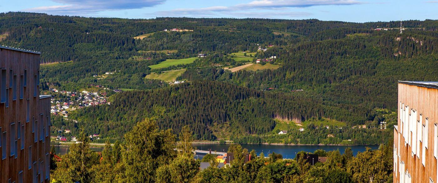 挪威利勒哈默尔(Lillehammer),美丽的小城依山傍水_图1-15