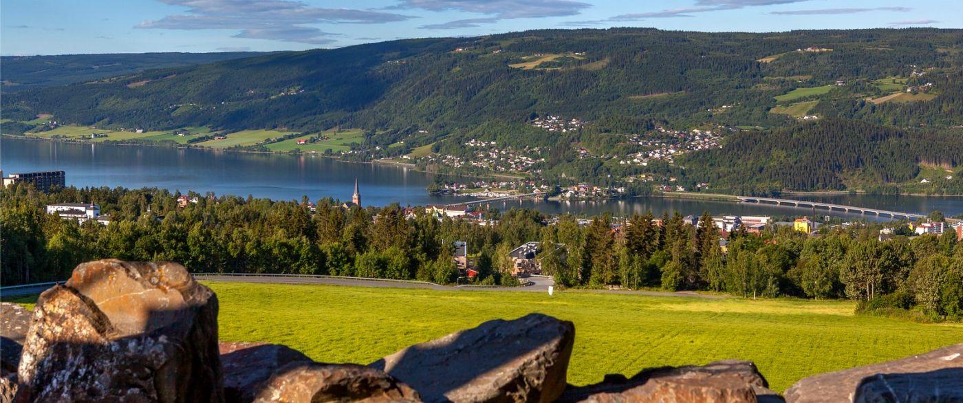 挪威利勒哈默尔(Lillehammer),美丽的小城依山傍水_图1-12