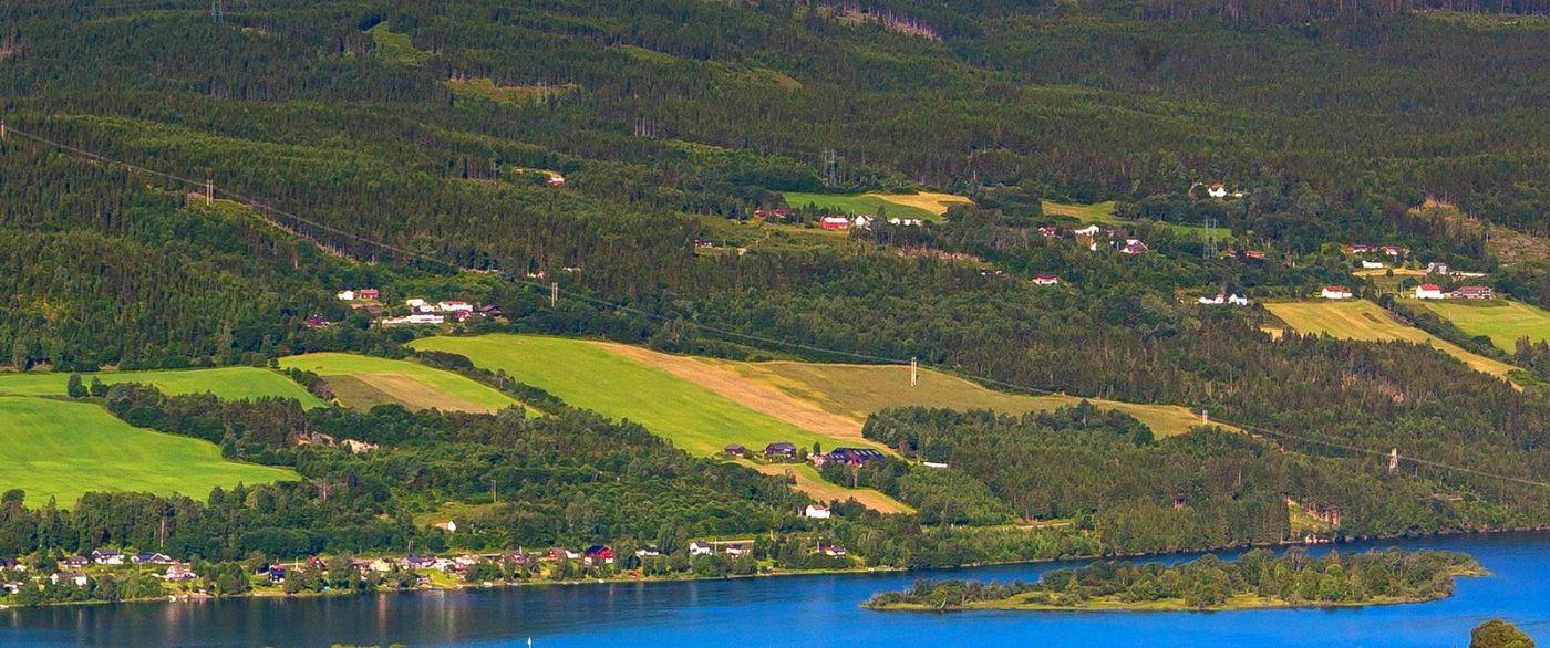 挪威利勒哈默尔(Lillehammer),美丽的小城依山傍水_图1-10