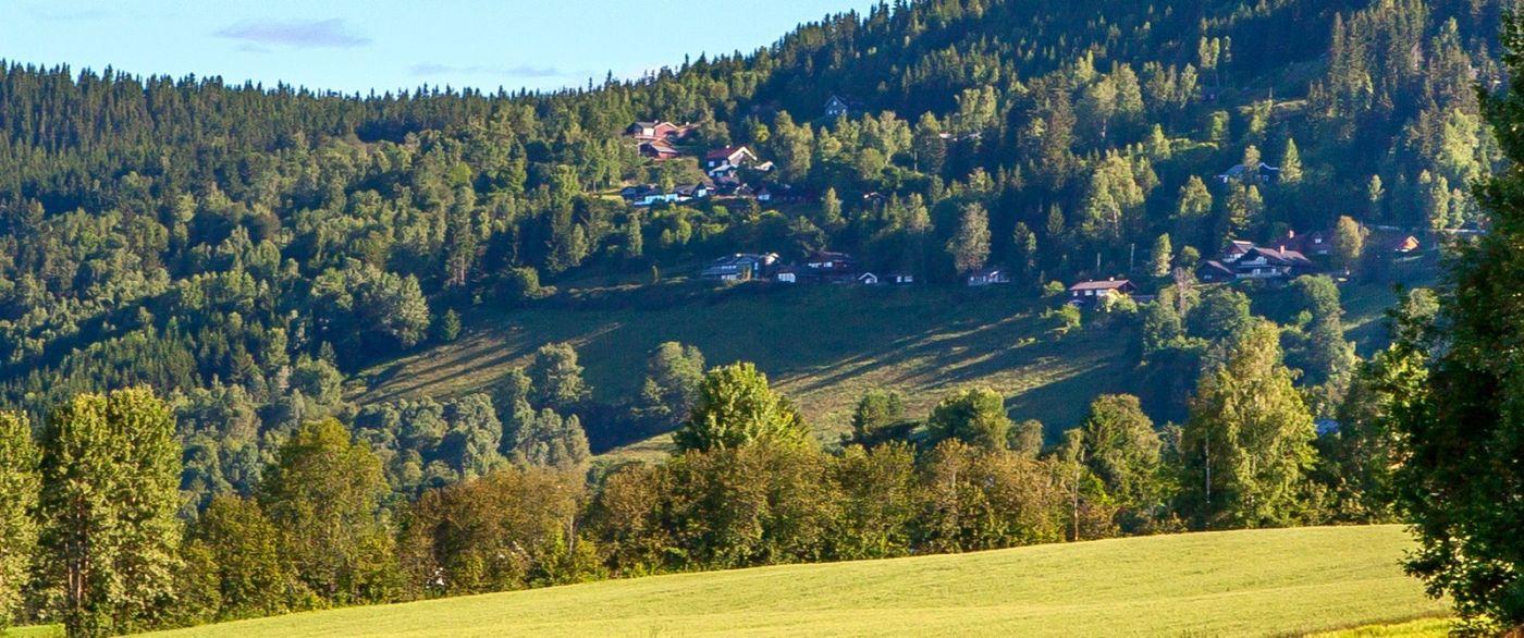 挪威利勒哈默尔(Lillehammer),美丽的小城依山傍水_图1-8