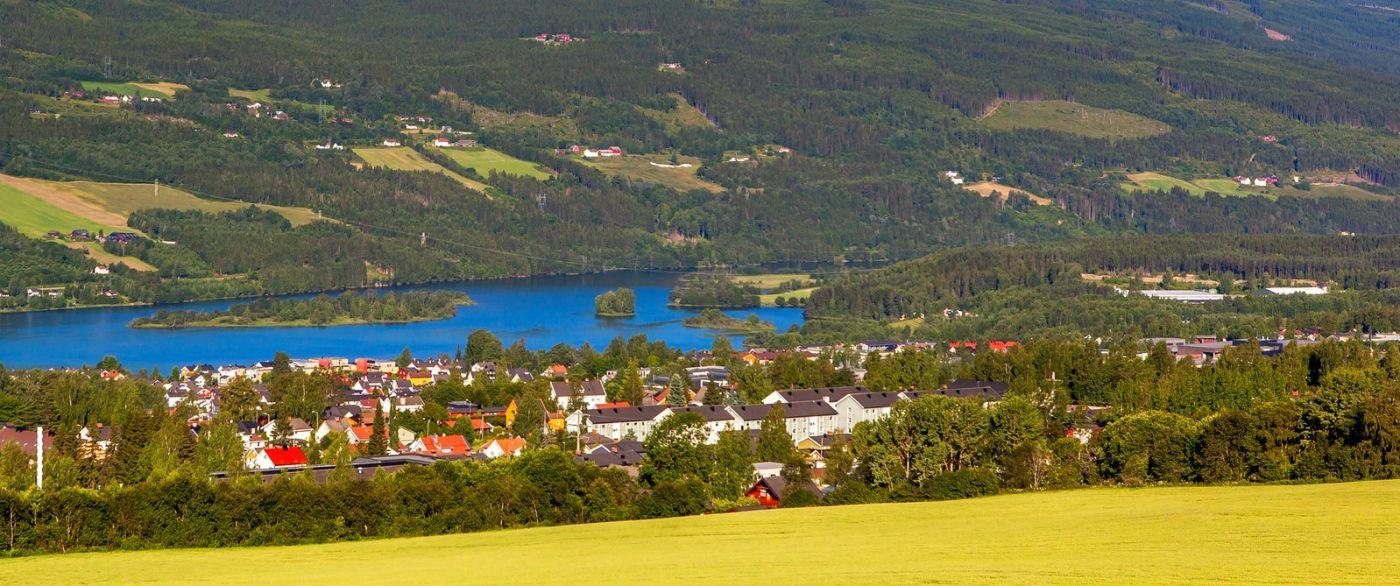 挪威利勒哈默尔(Lillehammer),美丽的小城依山傍水_图1-9