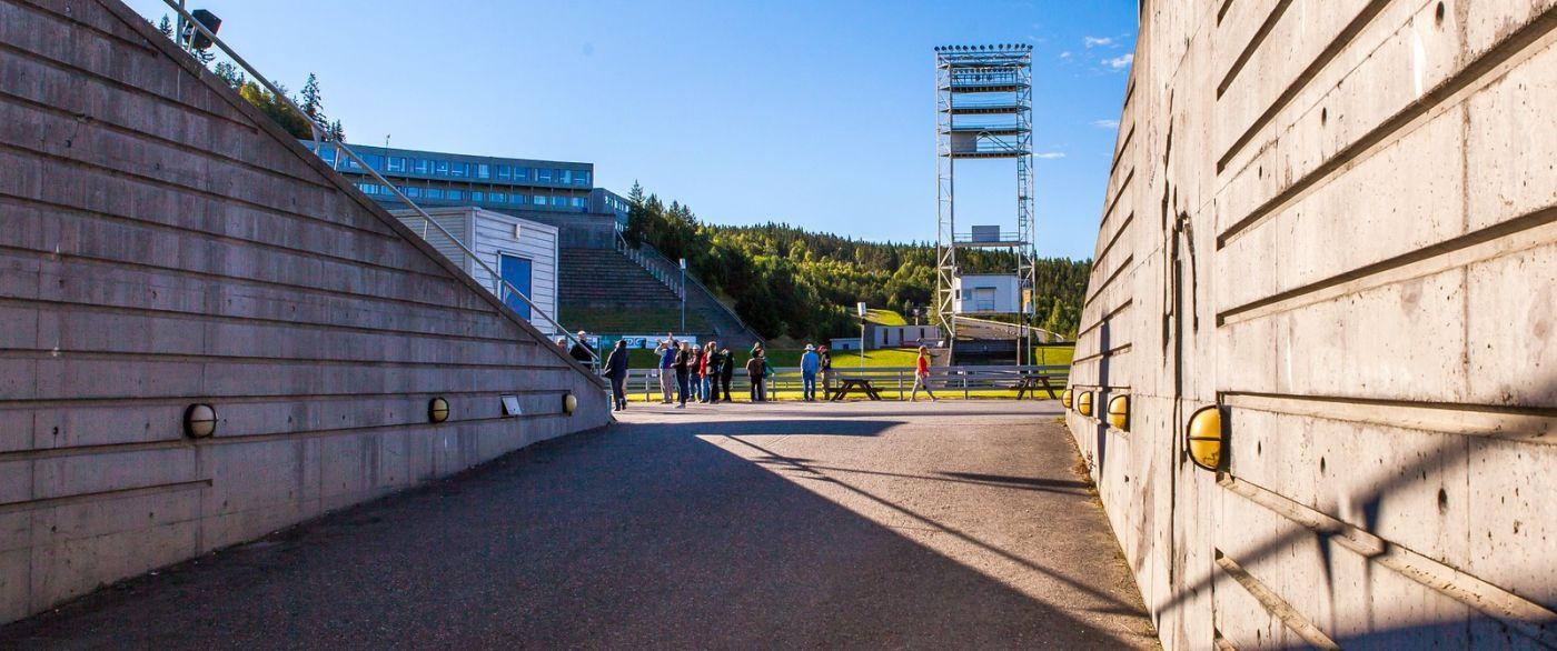 挪威利勒哈默尔(Lillehammer),美丽的小城依山傍水_图1-7