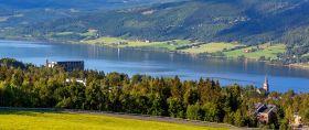 挪威利勒哈默尔(Lillehammer),美丽的小