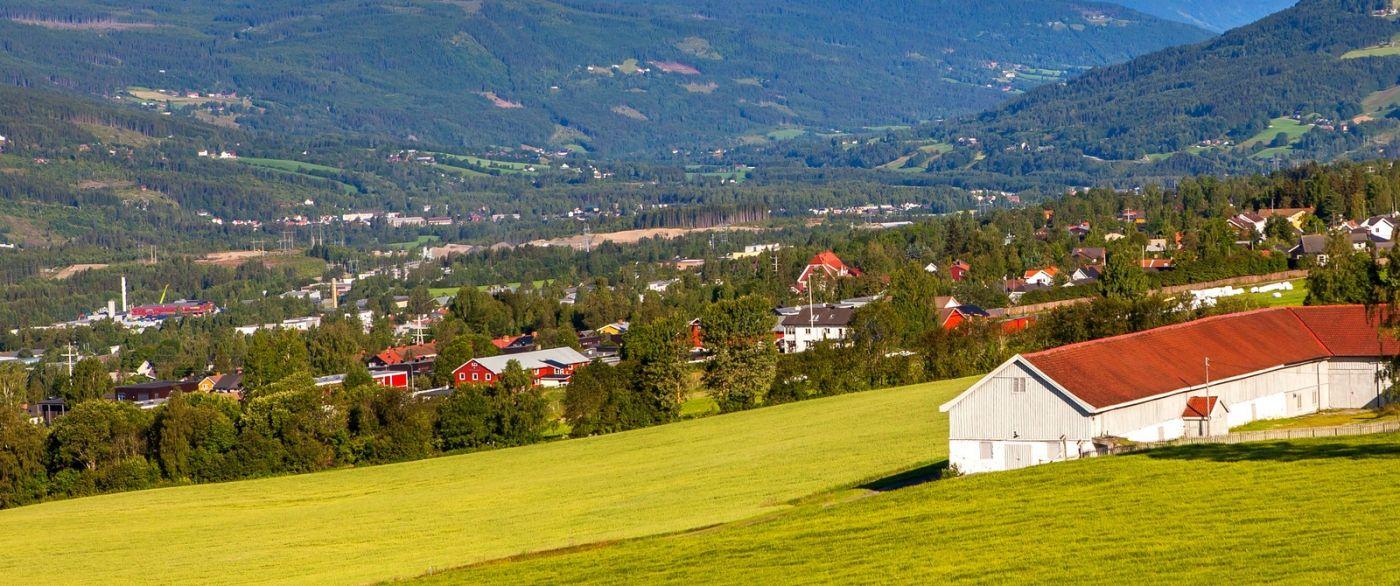 挪威利勒哈默尔(Lillehammer),美丽的小城依山傍水_图1-4