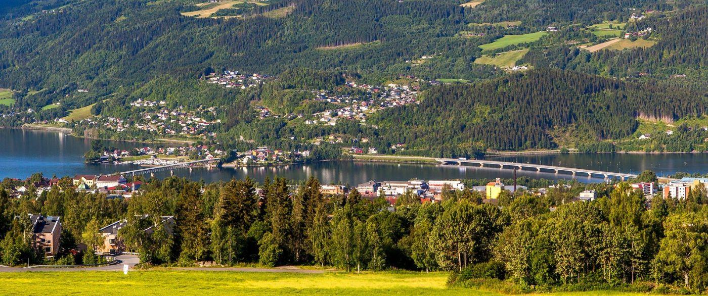 挪威利勒哈默尔(Lillehammer),美丽的小城依山傍水_图1-5