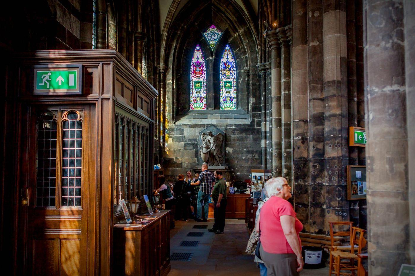 格拉斯哥大教堂,辉煌的窗户玻璃_图1-18