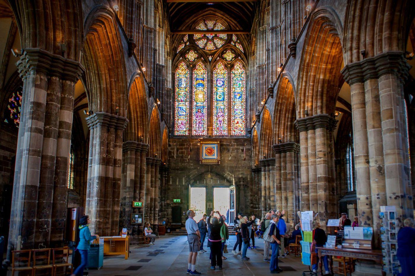 格拉斯哥大教堂,辉煌的窗户玻璃_图1-19