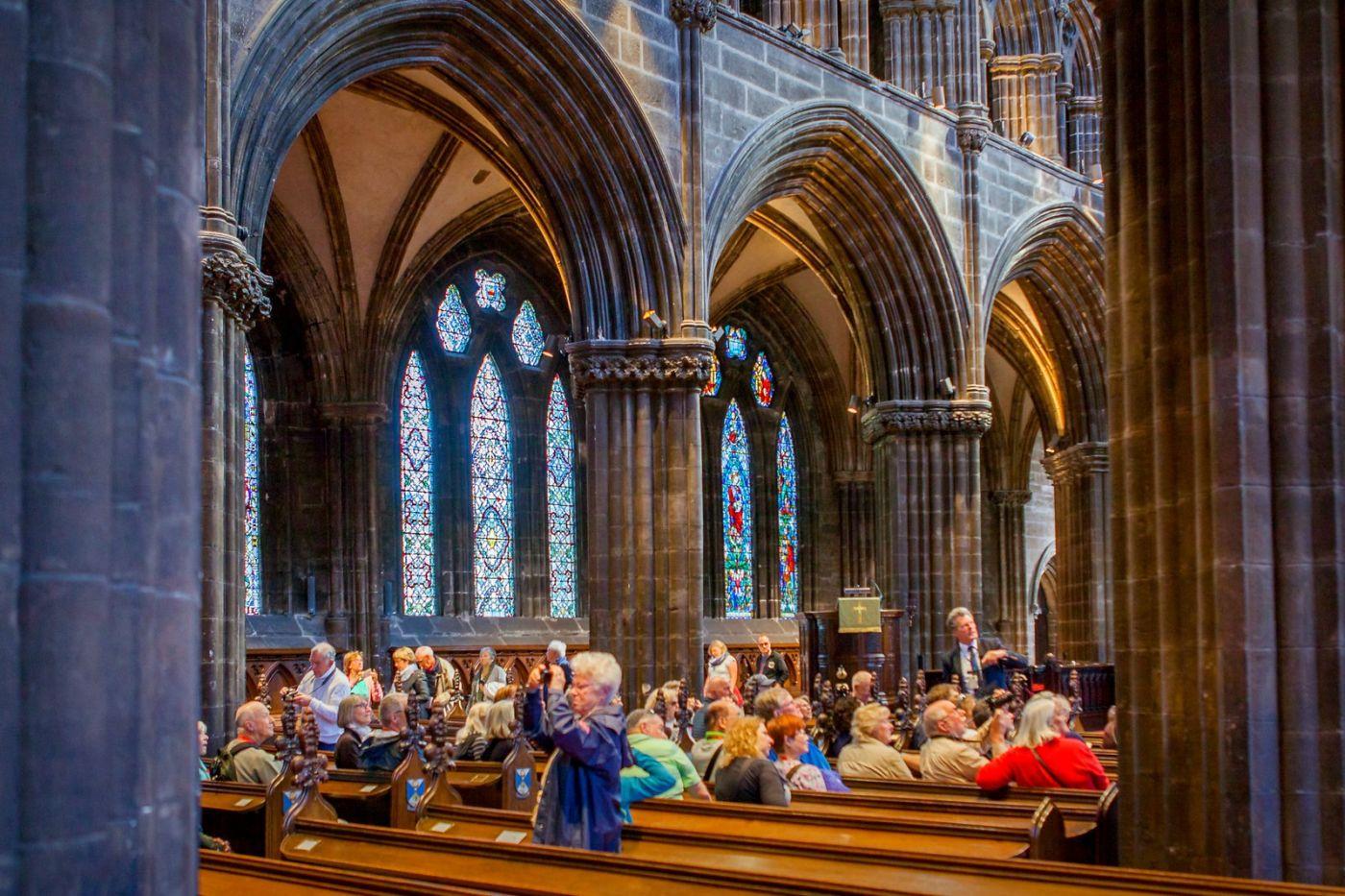 格拉斯哥大教堂,辉煌的窗户玻璃_图1-11