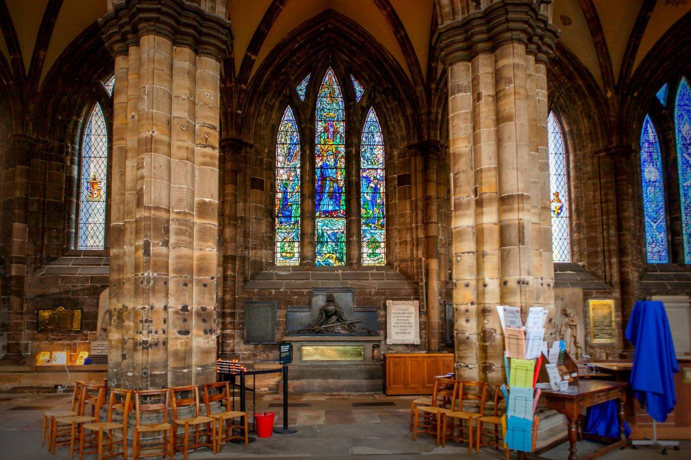 格拉斯哥大教堂,辉煌的窗户玻璃_图1-12