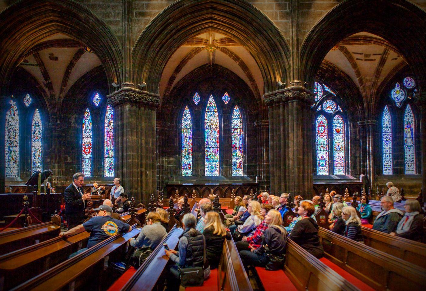 格拉斯哥大教堂,辉煌的窗户玻璃_图1-2
