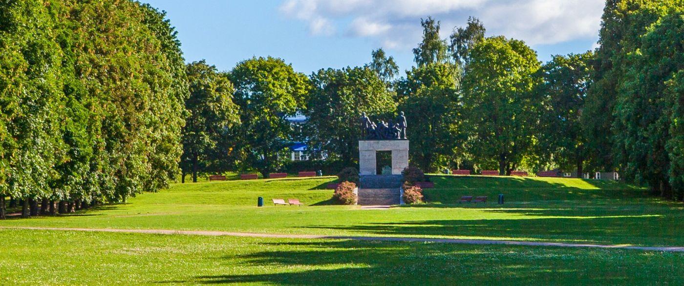 挪威维格兰雕塑公园,很著名的景点_图1-3