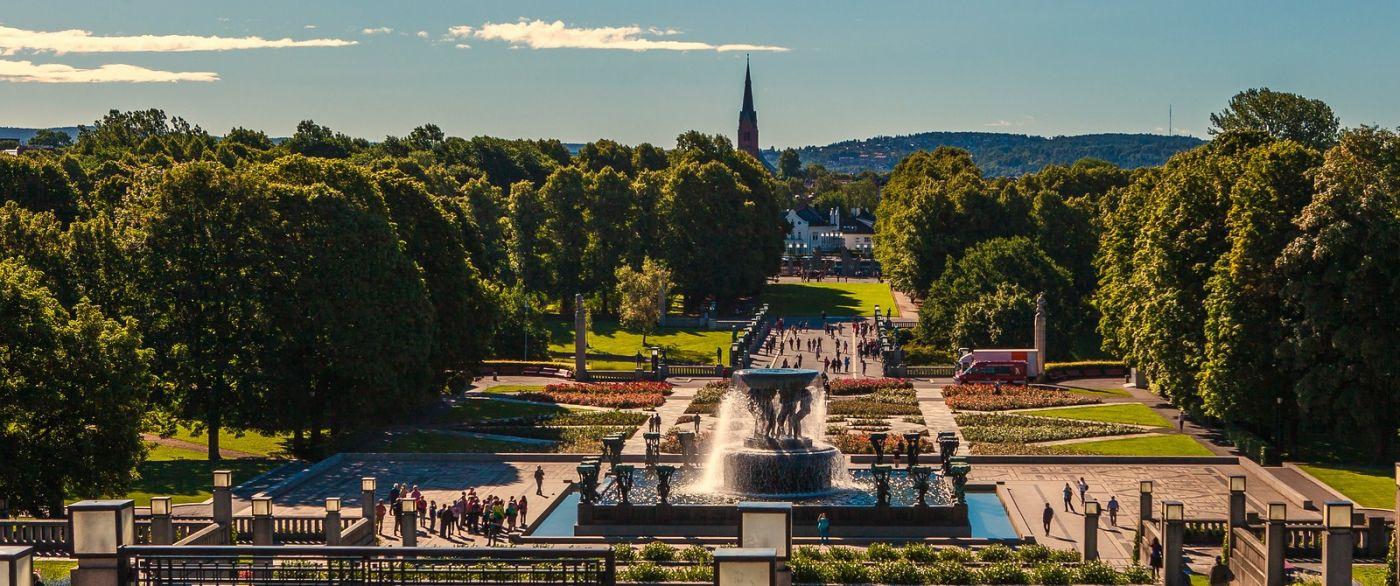 挪威维格兰雕塑公园,很著名的景点_图1-10