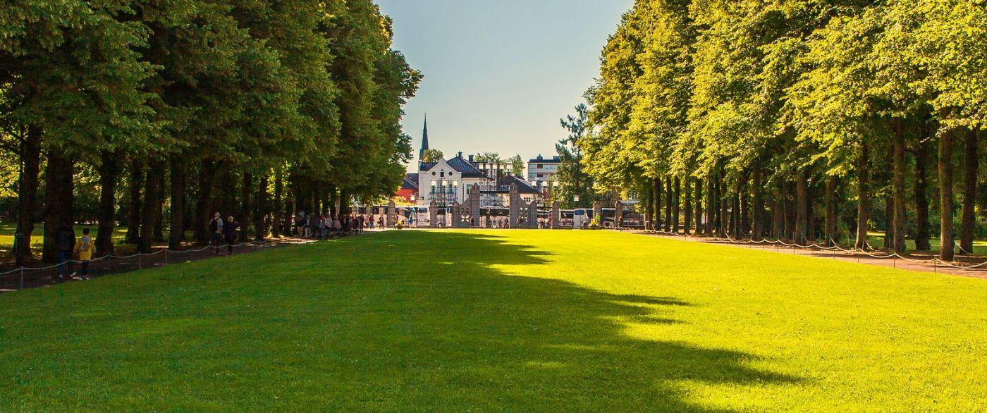 挪威维格兰雕塑公园,很著名的景点_图1-7