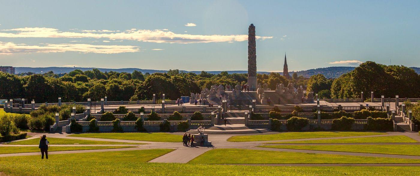 挪威维格兰雕塑公园,很著名的景点_图1-18