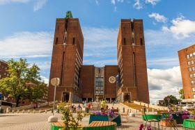 挪威奥塞罗市政厅,据说是世纪