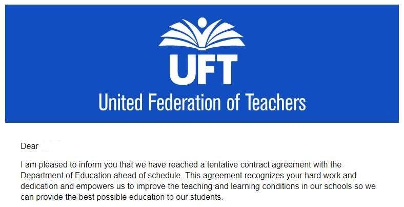 纽约教师工会公布,教师助理再次涨薪!_图1-1