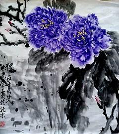 中国浪漫主义画派研究会秘书长张炳瑞香作品欣赏_图1-1
