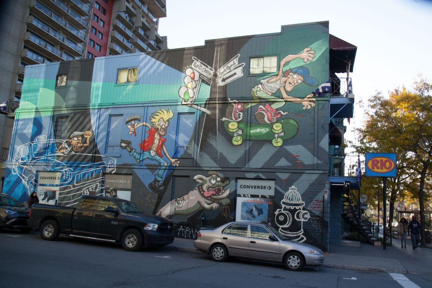 加拿大蒙特利尔街拍_图1-5