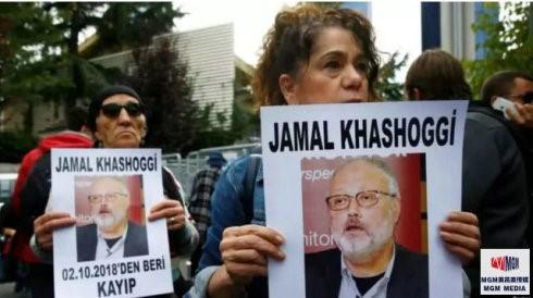 """高娓娓:美国媒体对沙特记者遇害案的反应,华盛顿邮报刊登白页标为""""消失的声音"""" ..._图1-1"""