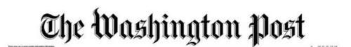 """高娓娓:美国媒体对沙特记者遇害案的反应,华盛顿邮报刊登白页标为""""消失的声音"""" ..._图1-2"""