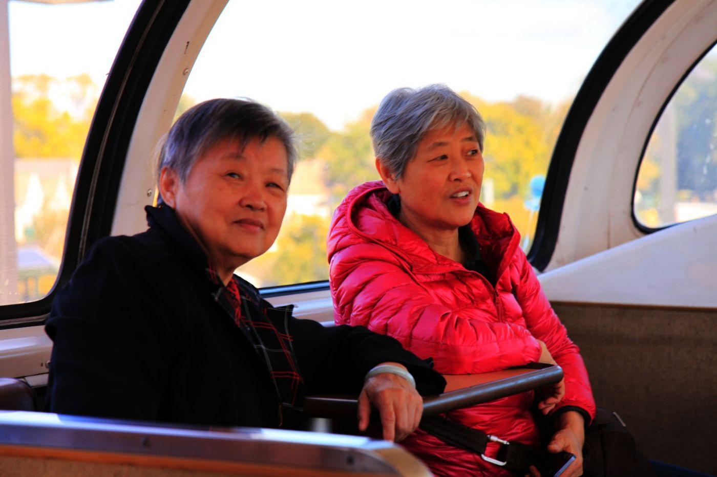 在赴加拿大蒙特利尔观看枫叶的观光火车上拍摄夕阳,别有情趣! ..._图1-3