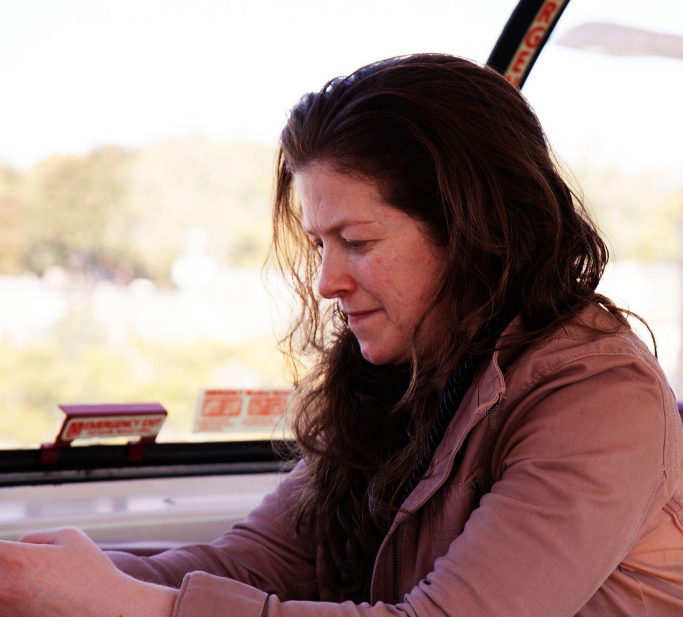在赴加拿大蒙特利尔观看枫叶的观光火车上拍摄夕阳,别有情趣! ..._图1-4