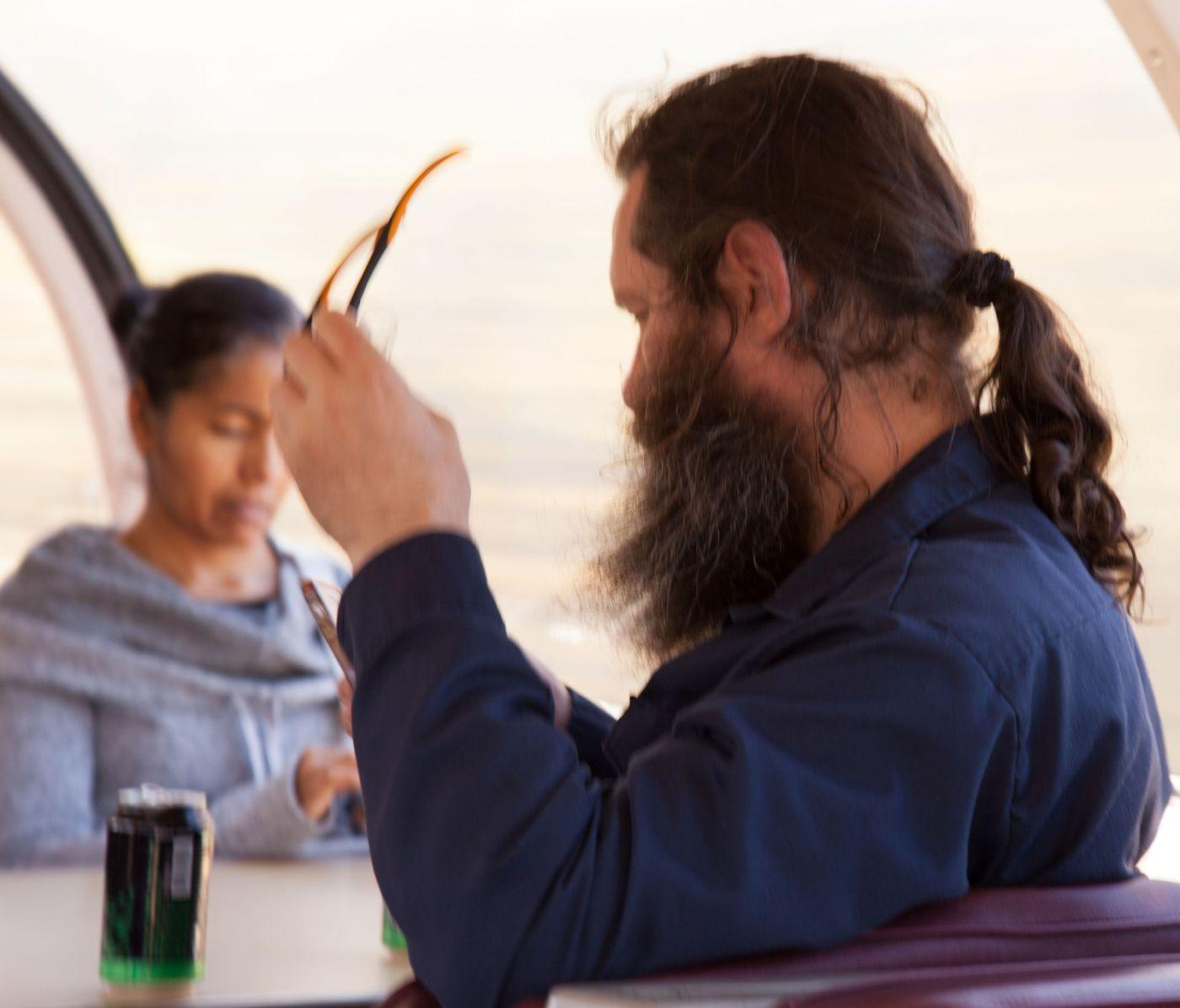 在赴加拿大蒙特利尔观看枫叶的观光火车上拍摄夕阳,别有情趣! ..._图1-6