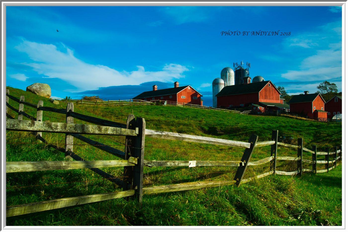 金秋的新英格兰风光,如同童话般的世界_图1-2