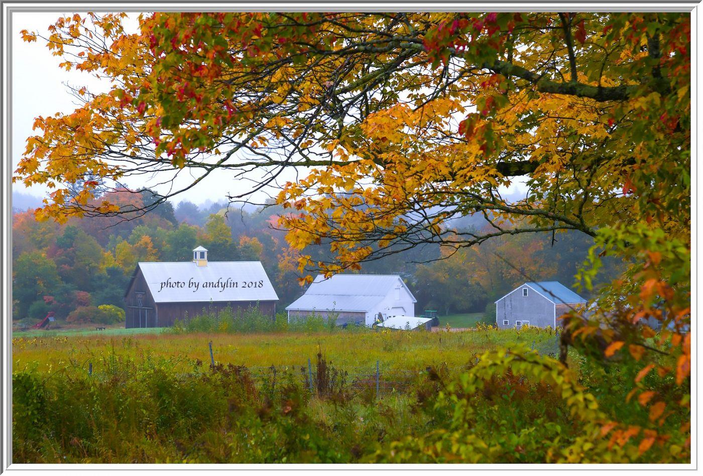 金秋的新英格兰风光,如同童话般的世界_图1-11