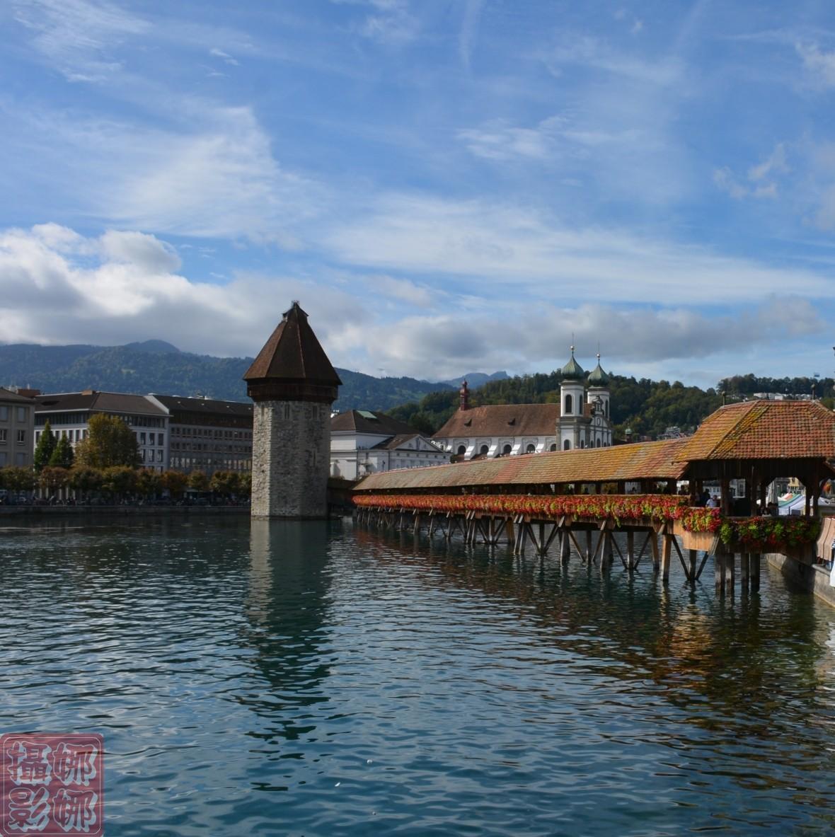 瑞士卢塞恩湖畔风光(一)_图1-3