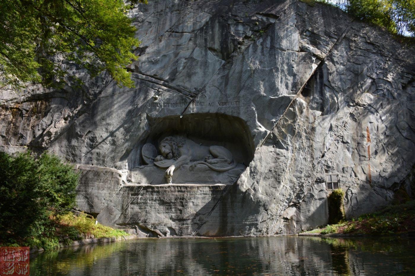 瑞士卢塞恩湖畔风光(一)_图1-2