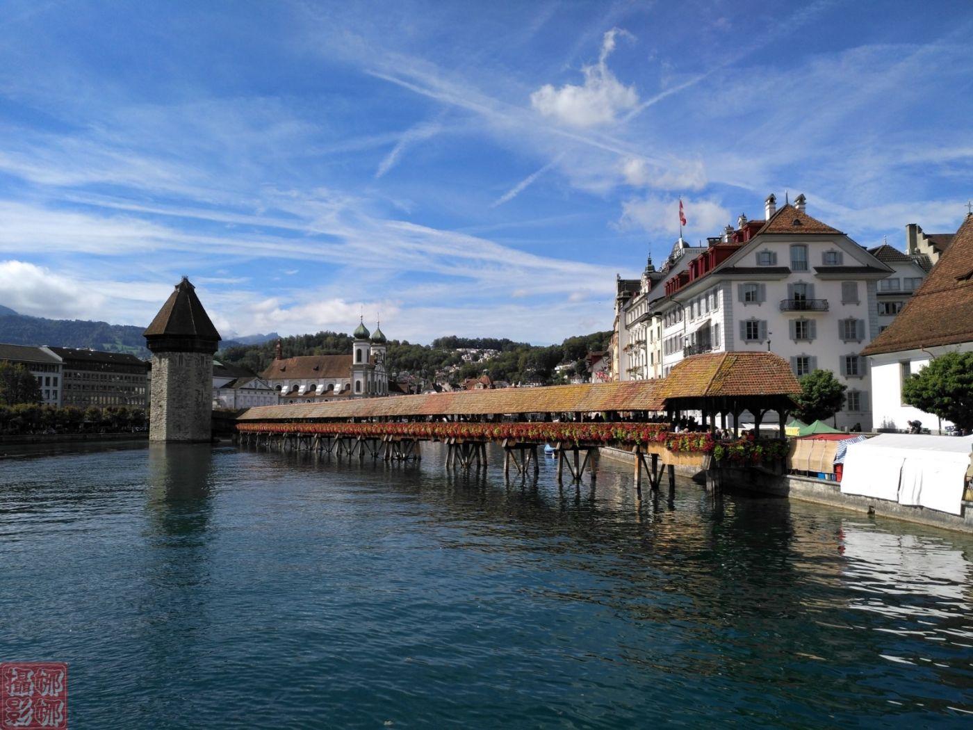 瑞士卢塞恩湖畔风光(一)_图1-4