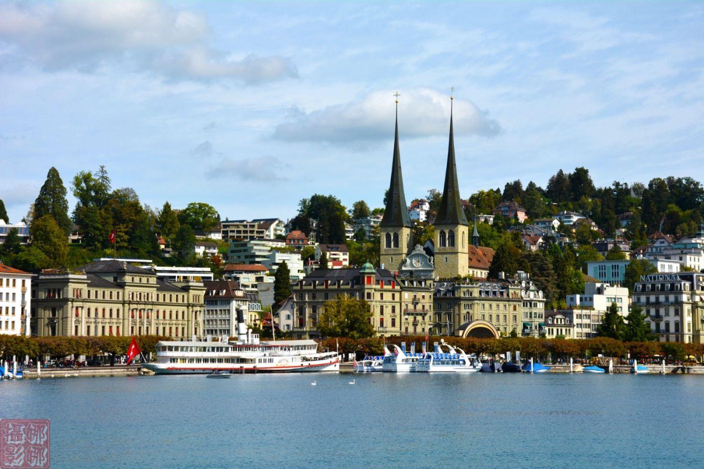 瑞士卢塞恩湖畔风光(一)_图1-5