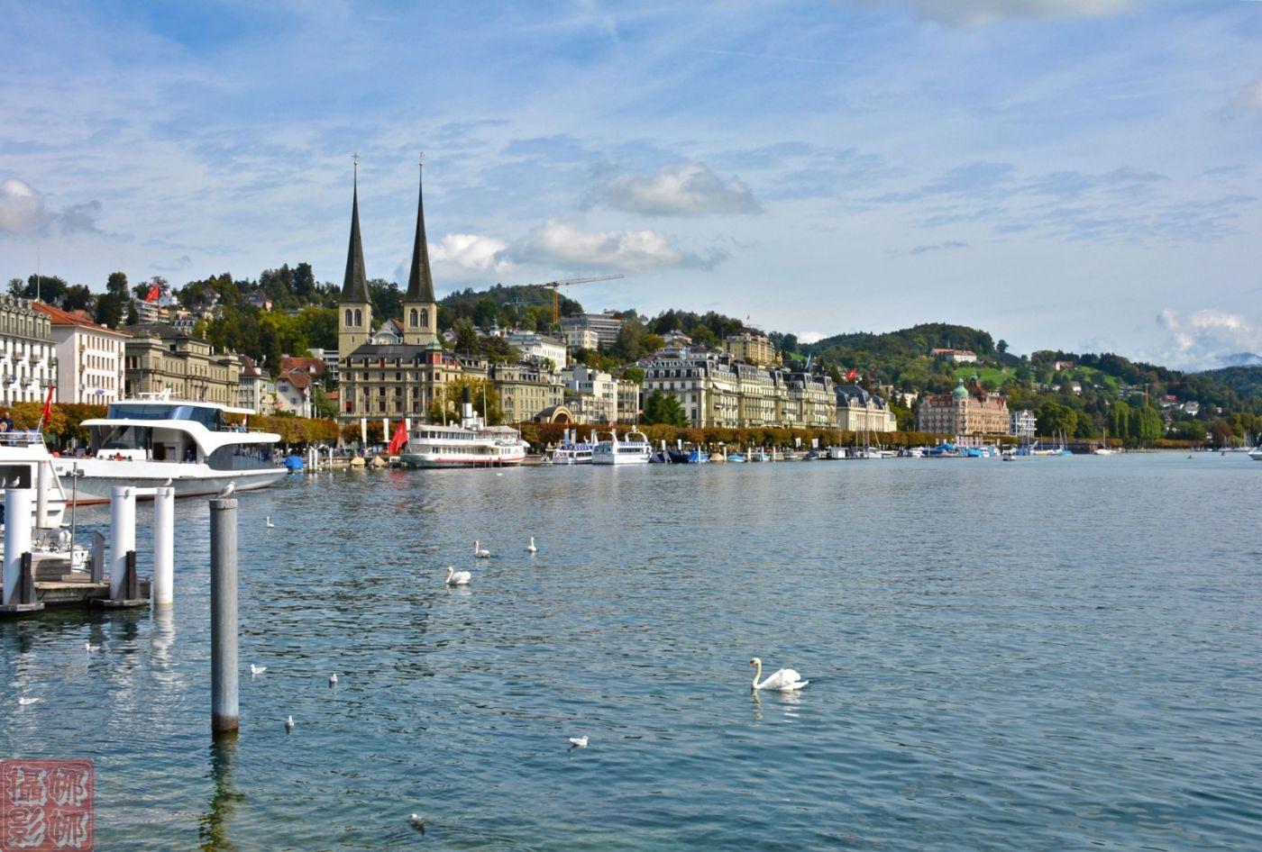 瑞士卢塞恩湖畔风光(一)_图1-7