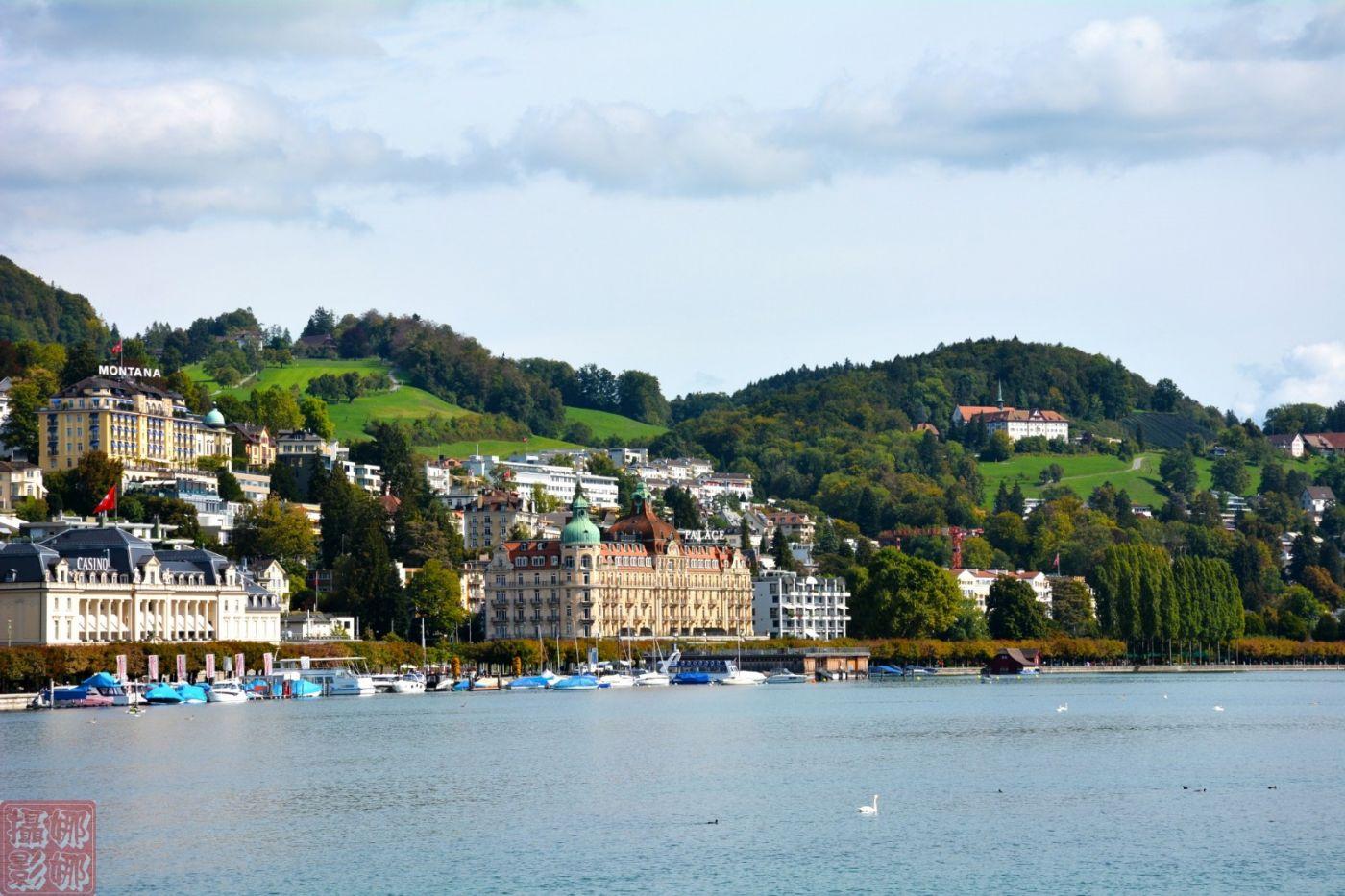 瑞士卢塞恩湖畔风光(一)_图1-9