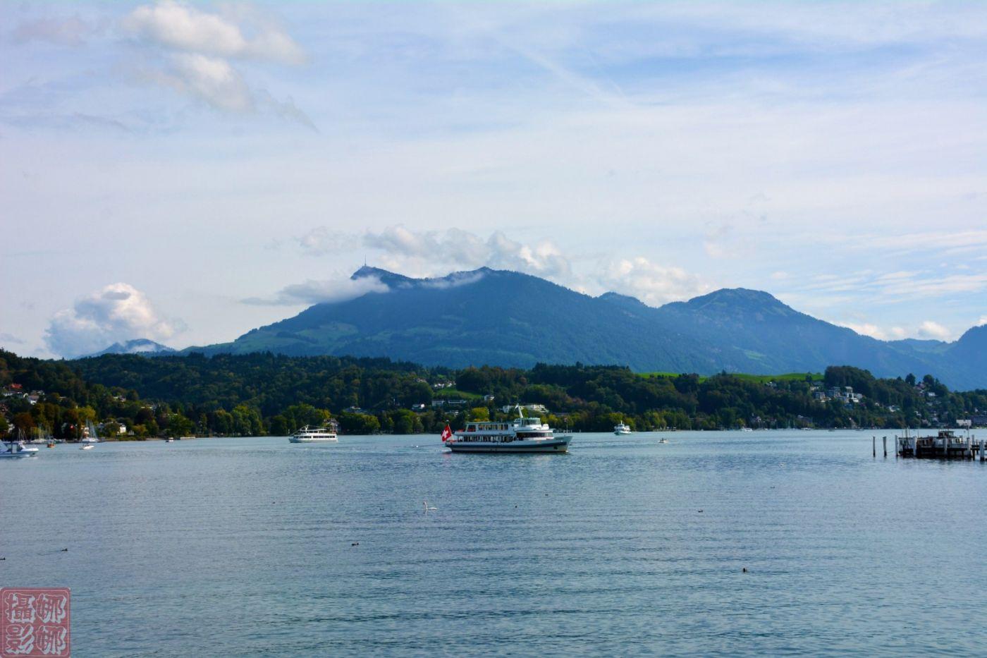 瑞士卢塞恩湖畔风光(一)_图1-12