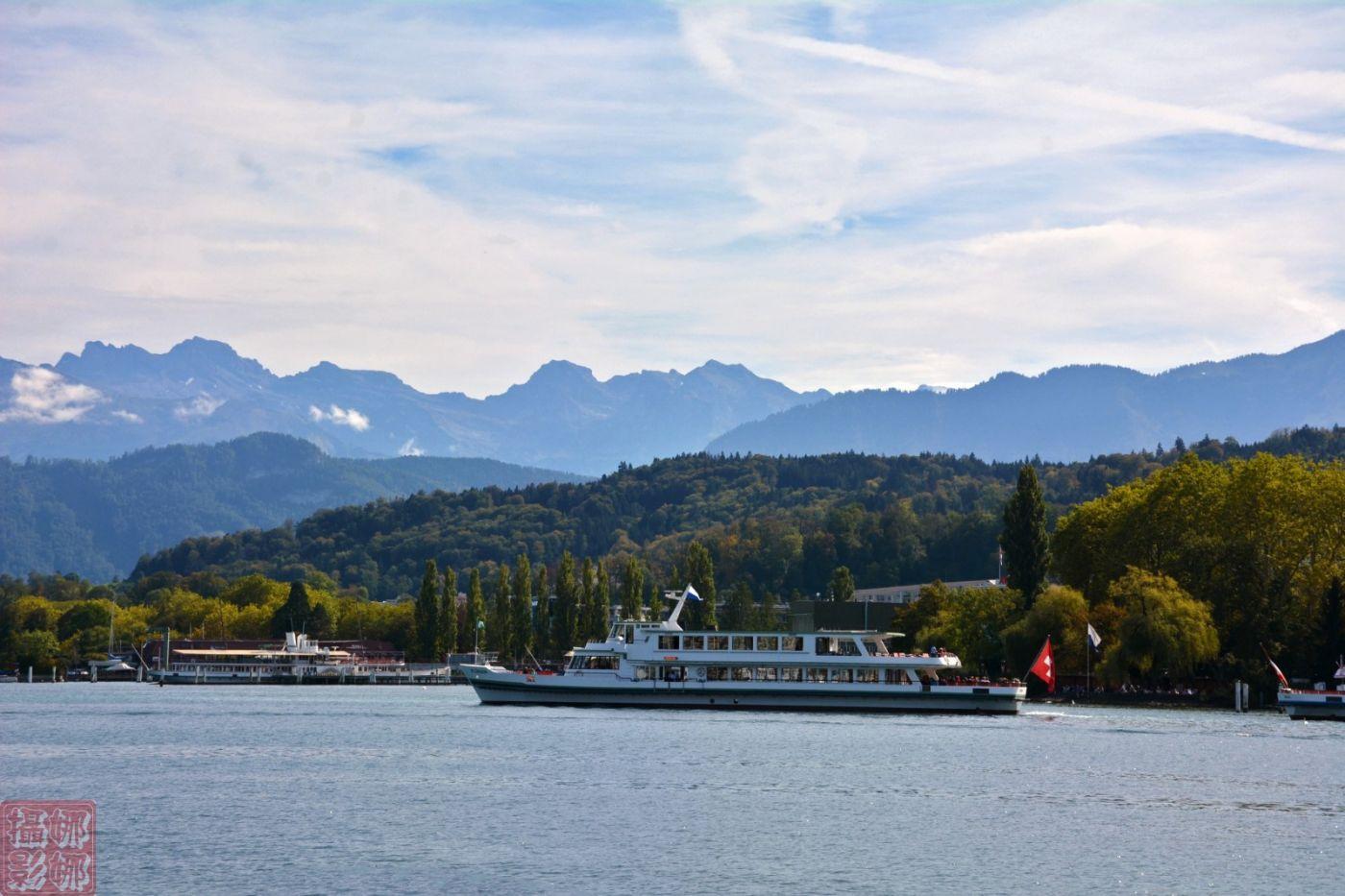 瑞士卢塞恩湖畔风光(一)_图1-13