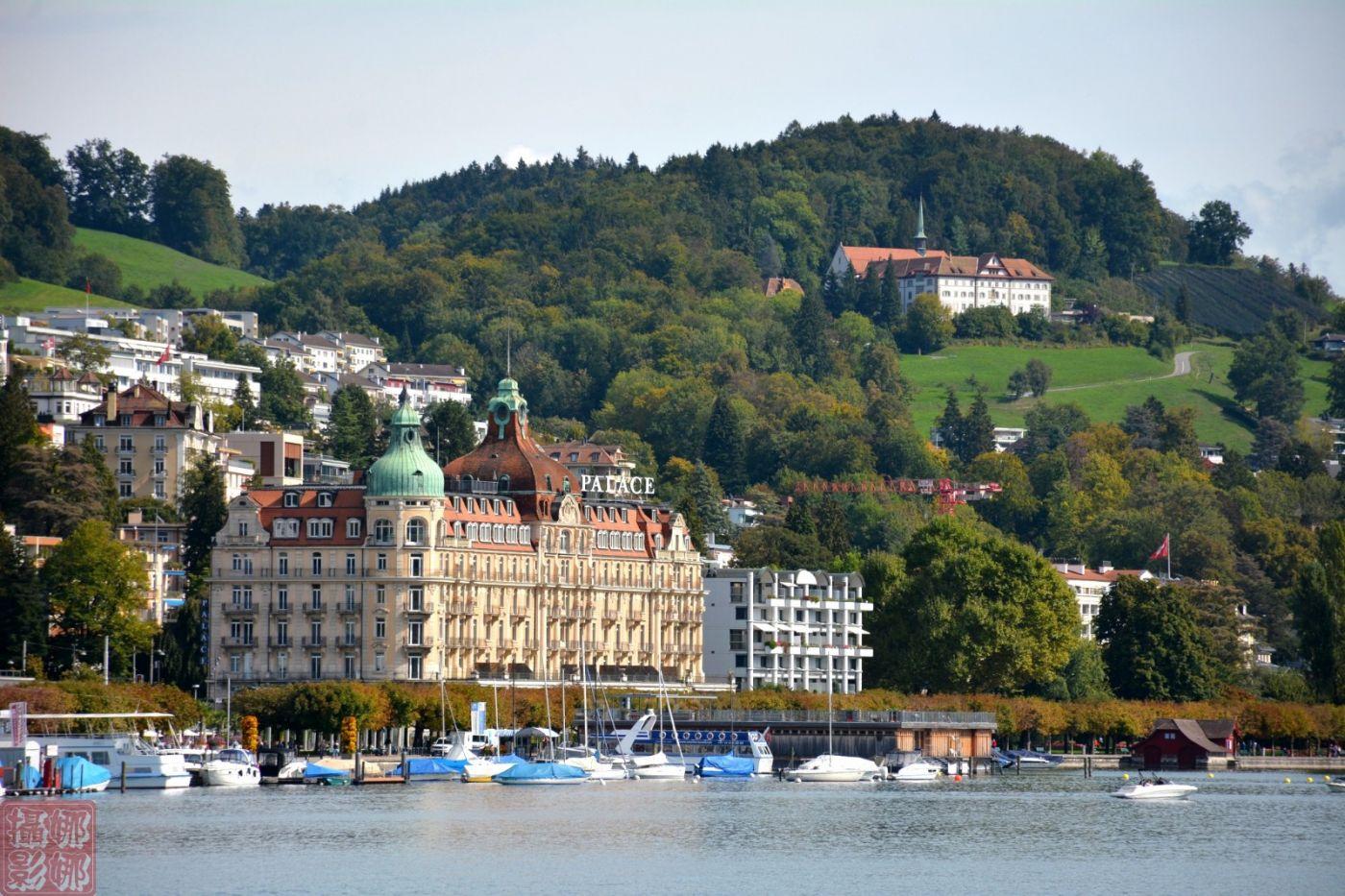 瑞士卢塞恩湖畔风光(一)_图1-14