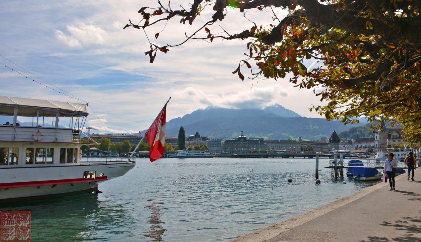 瑞士卢塞恩湖畔风光(一)_图1-15
