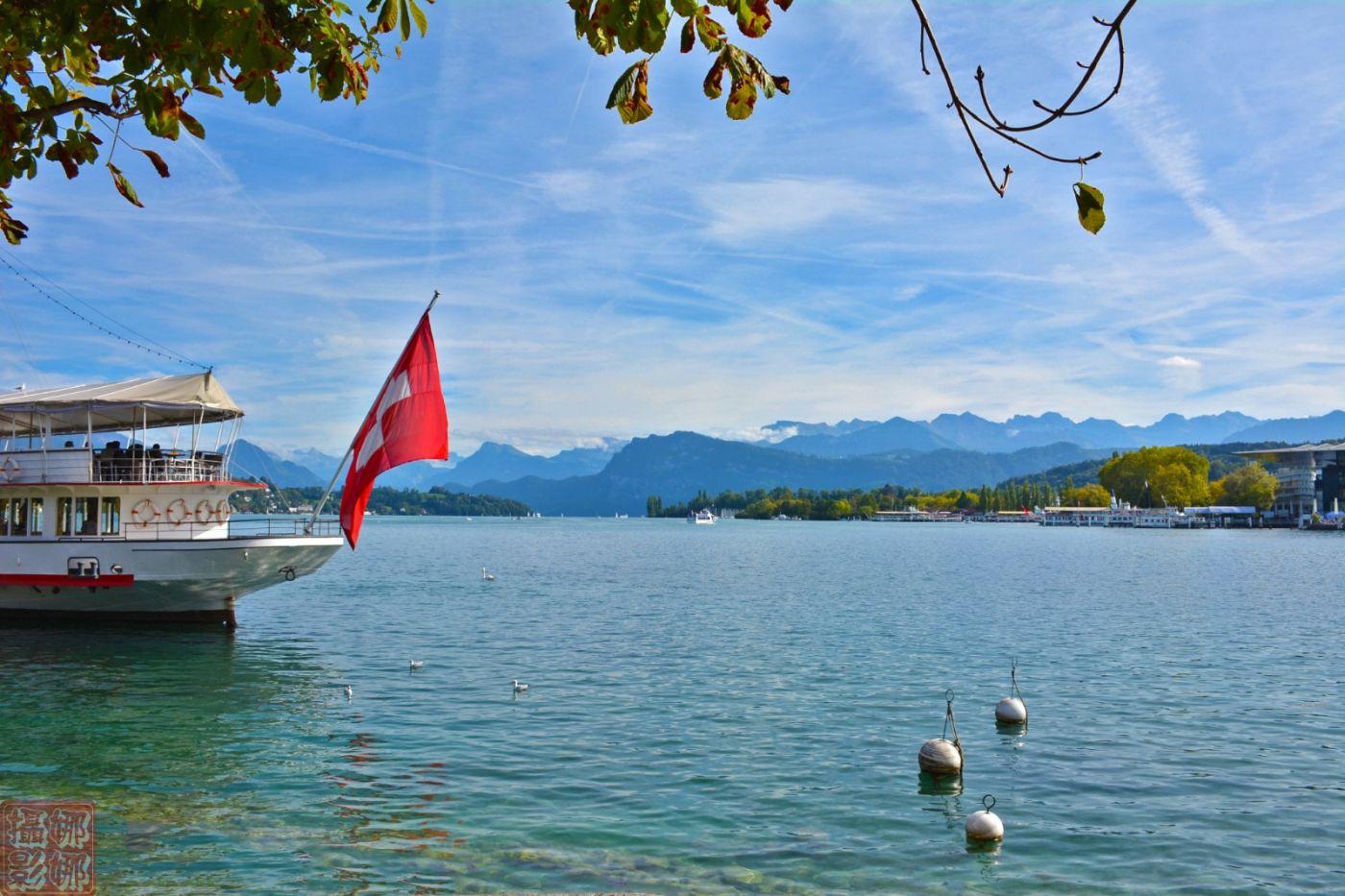 瑞士卢塞恩湖畔风光(一)_图1-17