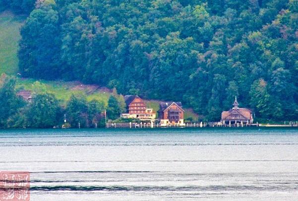 瑞士卢塞恩湖畔风光(二)_图1-3