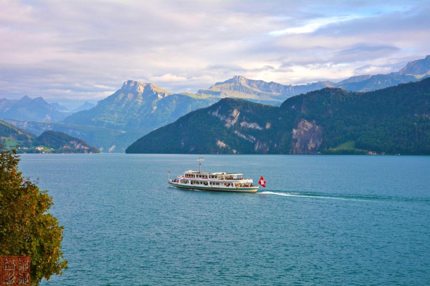 瑞士卢塞恩湖畔风光(二)_图1-2
