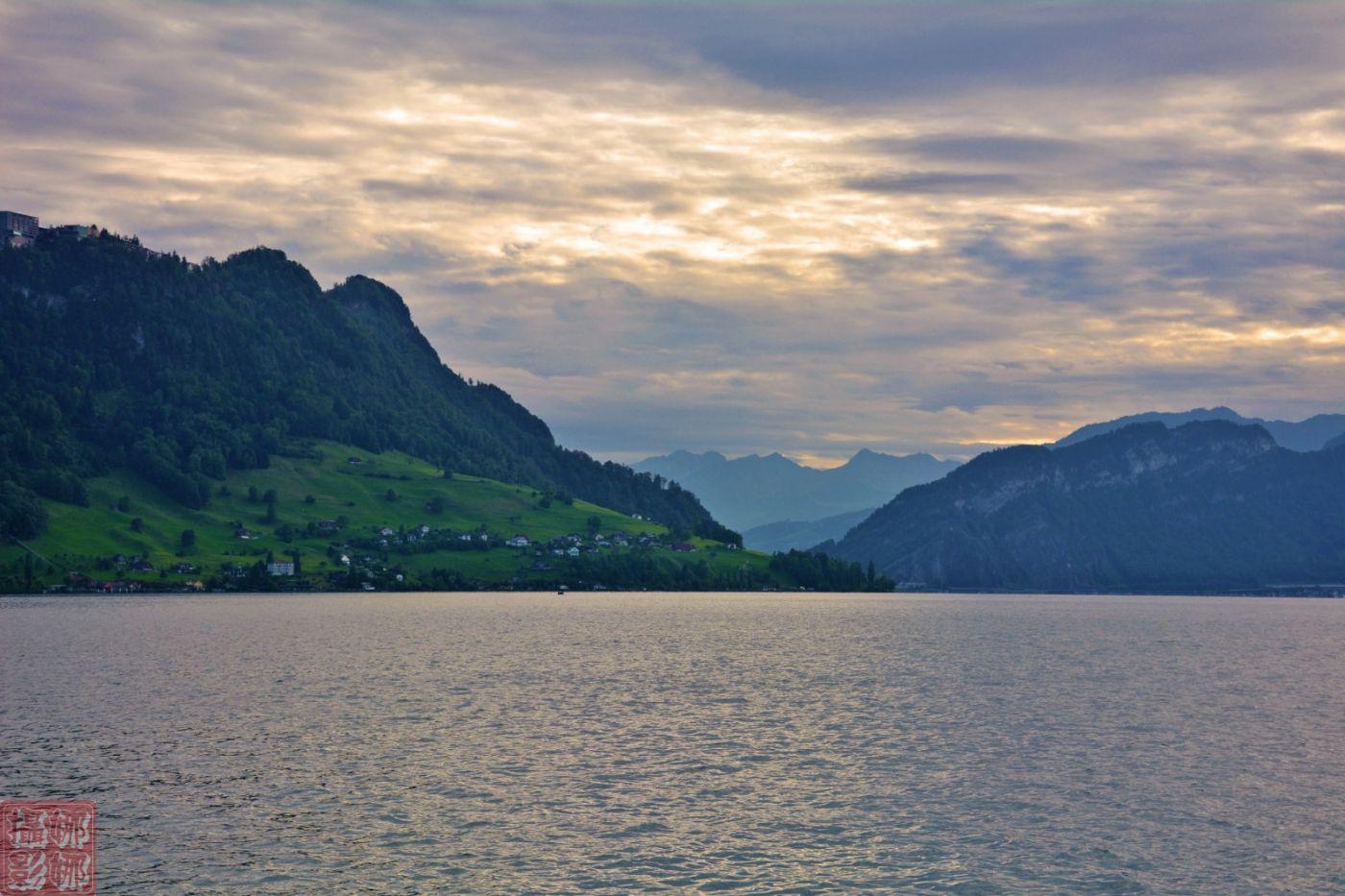 瑞士卢塞恩湖畔风光(二)_图1-5